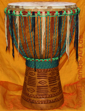 Djembe Drum Design and Art Work