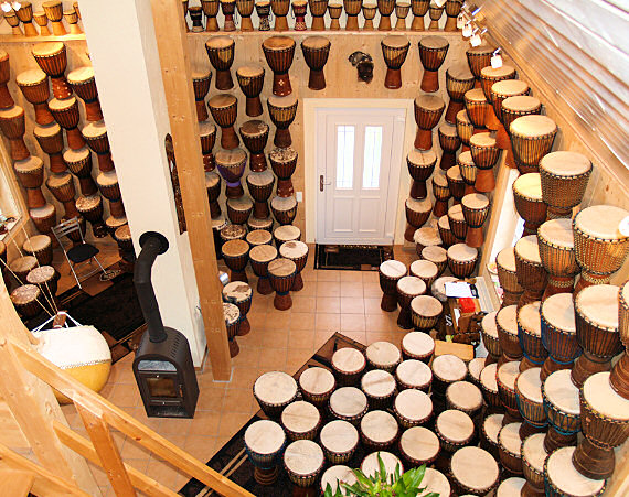500 Djembe Drums and more