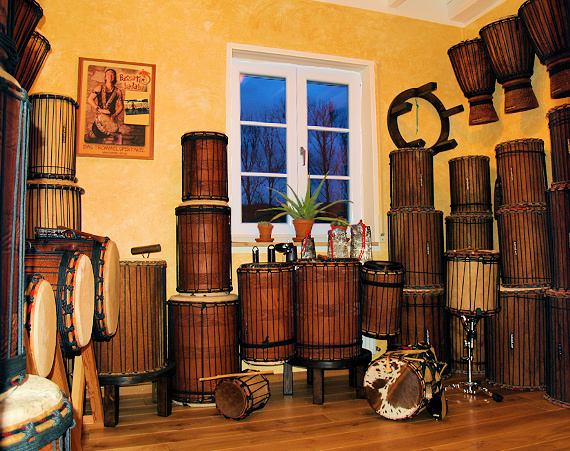 Bass Drum Studio, Dununba, Sangban, Kenkeni, Bougarabou and more
