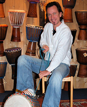 How to re tighten your Djembe Drum